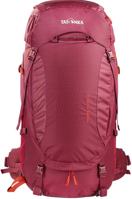 Tatonka Noras 55+10 Backpack Damen bordeaux red